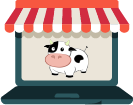 Adventure Cow store logo